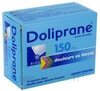 Doliprane 150 Mg Poudre Pour Solution Buvable En Sachet-dose B/12 à MARSEILLE