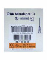 BD MICROLANCE 3, G25 5/8, 0,5 mm x 16 mm, orange  à MARSEILLE