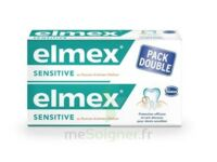 ELMEX SENSITIVE DENTIFRICE, tube 75 ml, pack 2 à MARSEILLE