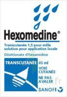 Hexomedine Transcutanee 1,5 Pour Mille, Solution Pour Application Locale à MARSEILLE