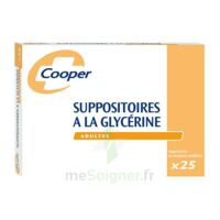 Suppositoires A La Glycerine Cooper Suppos En Récipient Multidose Adulte Sach/25 à MARSEILLE