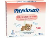 PHYSIOSALT REHYDRATATION ORALE SRO, bt 10 à MARSEILLE