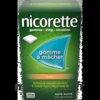 Nicorette 2 Mg Gomme à Mâcher Médicamenteuse Sans Sucre Fruits Plq/30 à MARSEILLE