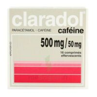 Claradol Cafeine 500 Mg/50 Mg, Comprimé Effervescent à MARSEILLE