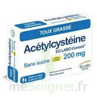 Acetylcysteine Eg Labo Conseil 200 Mg Sans Sucre, Poudre Pour Solution Buvable En Sachet-dose à MARSEILLE