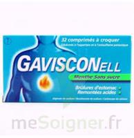 Gavisconell Coprimés à Croquer Sans Sucre Menthe édulcoré à L'aspartam Et à L'acésulfame Potas Plq/24 à MARSEILLE