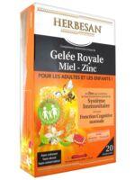 Herbesan Gelée Royale Miel - Zinc Dès 4 Ans B/20 à MARSEILLE