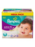 PAMPERS COUCHES ACTIVE FIT TAILLE 4 7-18 KG X 78 à MARSEILLE