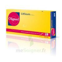 Oligosol Lithium Solution Buvable En Ampoule Ou En Récipient Unidose 28amp/2ml à MARSEILLE
