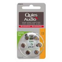 Quies Audio Pile auditive modèle 13 Plq/6 à MARSEILLE