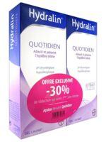 Hydralin Quotidien Gel lavant usage intime 2*200ml à MARSEILLE
