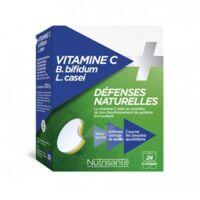 Nutrisanté Vitamine C+probiotiques Comprimés à Croquer 2*t/12 à MARSEILLE