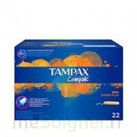 Tampax Compak - Tampon Super Plus à MARSEILLE
