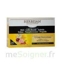 Herbesan Système Immunitaire 30 ampoules à MARSEILLE
