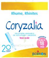 Boiron Coryzalia Solution Buvable Unidose B/20 à MARSEILLE