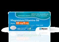 Magnesium/vitamine B6 Mylan 48 Mg/5 Mg, Comprimé Pelliculé à MARSEILLE