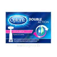 Optone Monodose Double Action Solution Oculaire Yeux Secs B/10 à MARSEILLE