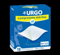 Urgo Compresse Stérile Non Tissée 10x10cm 10 Sachets/2 à MARSEILLE